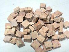 Tessere Marmo Mosaico! Mosaic Tiles! cm1x1. ROSA chiaro n.45