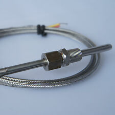 EGT EXHAUST GAS TEMPERATURE SENSOR PROBE,UNIVERSAL, K-Type Thermocouple 1M