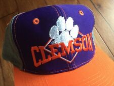 Clemson University Tigers SnapBack Baseball Hat By THE GAME Vintage Cap