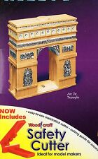 L'ARC de TRIOMPHE MATCHSTICK MODEL CRAFT KIT WITH CUTTER, BRAND NEW