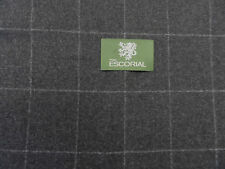 100% ESCORIAL WOOL SUITING FABRIC( LENGTH 2.15 MT)