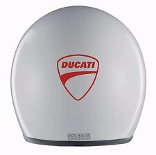 2x DUCATI MOTORBIKE HELMET STICKERS - great for birthday present!