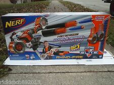 New NERF RHINO-FIRE RAPID-FIRE MACHINE GUN 50 DARTS & TRIPOD toy dart gun