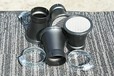 39mm FLAT BLACK Velocity stack HONDA CB750 CB500 CB550 CB 38mm 39mm SOLD EACH