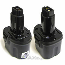 2 x Extended 3000MAH 3.0AH 7.2V NI-MH BATTERY FOR DEWALT DW9057 DE9057 DE9085