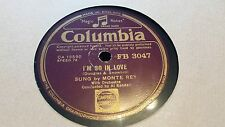 MONTE REY I'M SO IN LOVE & LET ME LOVE YOU TONIGHT COLUMBIA FB3047