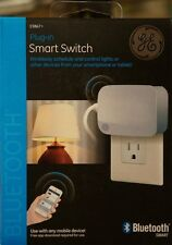Bluetooth Plug-in Smart Switch by G.E., 13867 White (Wireless Control) NEW