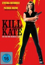 CYNTHIA/WAYNE,PATRICK ROTHROCK - KILL KATE  DVD NEU