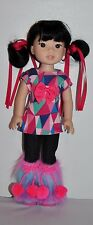 AMERICAN MADE DOLL CLOTHES FOR AMERICAN GIRL DOLL WELLIE WISHERS LOT #040