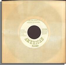 Freddy & Manuel - I'm Up On the Right Track + Flyin' My Way Back To Texas - 45