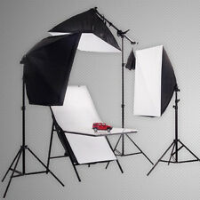 Hwastudio ® Studio Tenda Softbox 4x 135W Luce Diurna Illuminazione Luce SHOOTING table