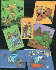 Hanna Barbera STYLE GUIDE PLATE - Hanna Barbera 1978-79 NEW SHOWS Godzilla Yogi