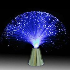 Colour Changing FIBRE OPTIC FOUNTAIN.... Battery Operated, Safe, Led Light, Lamp