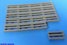 LEGO® Nr- 4210631 / 1x2 Gitterfliese / Fliese dunkelgrau / 20 Stück