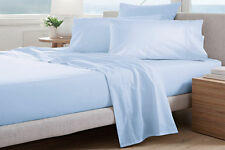 Sheridan Adkins 700TC QUEEN Bed sheet Set in Barely Blue RRP $429.95