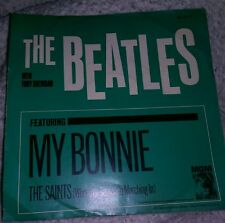 THE BEATLES My Bonnie/The Saints  original 45 Record and Cover from 1964. Rare.