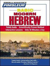 PIMSLEUR Learn to Speak HEBREW Language 5 CDs NEW!