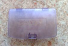 NEU Klar Lila Batteriedeckel Batteriefachdeckel Game Boy Color GBC Clear purple