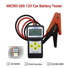 LANCOL MICRO-200 12V Car Battery Tester Analyzer W/Printer Function EFB/AGM/GEL