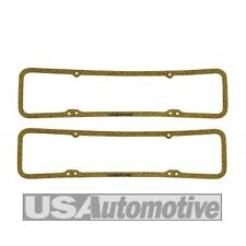 Mr Gasket #175 Cork Valve Cover Gaskets Small Block Chevy SBC Pair 1958-86