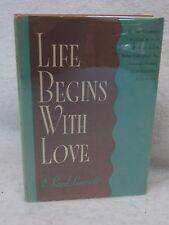 E. Boyd Barrett  LIFE BEGINS WITH LOVE  1952 Bruce Publishing, WI HC/DJ