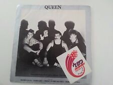 QUEEN excerpts THE WORKS  flexi 1984 israeli promo RADIO GAGA want to break free