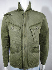 Polo RALPH LAUREN Military/Field British Combat Quilted Jacket Army Green size M
