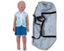 Kyle w/Bag 3 Year Old Child CPR Training Manikin  NEW - More manikins online