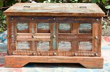 Recycled Timber Blanket Box Storage Chest Coffee Table Industrial Antique