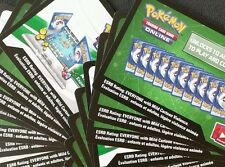 Pokemon TCGO: 10x XY Evolutions, Booster Pack Online Codes, In Hand!