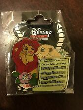 DSF Disney The Lion King Best Original Song Music Sheet LE 300 Pin