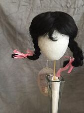 """""""Princess"""" Doll Wig Size 8-9 Color Black by Playhouse Collection"""