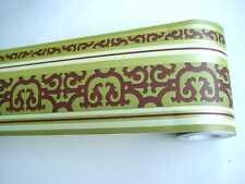 Alkor selbstklebende Bordüre Deco Borders 10m x 10,6cm Colonial grün 1000000143