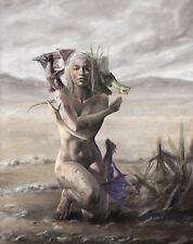 Game Of Thrones Poster 30x24 Daenerys Stormborn Mother Of Dragons Poster