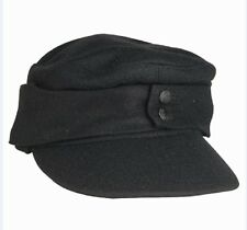 WEHRMACHT ARMED FORCES Tank Field cap M43 black cap German Army WWII cap Hat 62