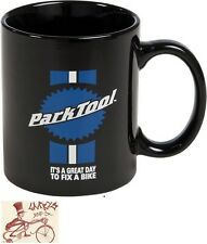 PARK TOOL TOOLMAN BLACK COFFEE MUG