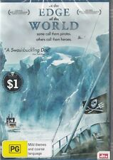 AT THE EDGE OF THE WORLD - SEA SHEPERDS ANTI WHALING - REGION 4 NEW & SEALED DVD