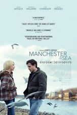 """MANCHESTER BY THE SEA MOVIE POSTER ORIGINAL AUTHENTIC 13.5""""X20"""" W/ TUBE SHIPPING"""