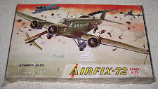 JUNKERS JU-52 (Vintage Airfix-72 Series 3 #163) 1/72 Constant Scale Aircraft Mod