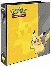 "Pokemon Pikachu 3Ring Binder Card Album, 2"", New, Free Shipping"