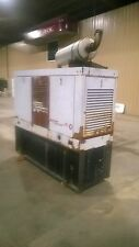 35kW Perkins, Diesel, Standby Generator w/Housing & Base Tank - Running Takeout!