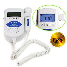 Sonoline B Fetal doppler /Backlight LCD,baby heart monitor,3mhz probe+Gel, FDA M