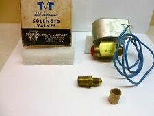 """Sporlan 1/4"""" W3P1 normally closed 300 SWP 150 MOPD with 120vac coil A605"""