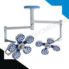 227000LUX ORTHOPADIC OPERATING THEATRE LED LIGHT DOUBLE DOME 9REFLECTOR CIELING