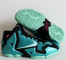 NIKE LEBRON XI 11 (GS) SOUTH BEACH SPORT TURQ SZ 6.5Y//WMNS SZ 8 [621712-303]