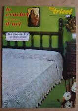 catalogue ancien LE CROCHET ET LE TRICOT D'ART N° 49 - 1978