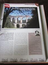 Chronik der Eisenbahn 1A: 1860 Österreich Semmering Carl Ritter von Ghega Stirbt
