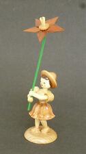 Blank figlio dei fiori con giglio, naturale, originale Erzgebirge/Verde Hainichen