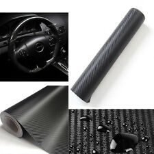 127cmx50cm DIY 3D Carbon Fiber Wrap Wall Paper Auto Car Vinyl Film Sticker Decal
