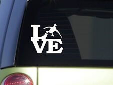 "Love duck 6"" sticker decal *F073* duck hunting calls camo ducks duck blind"